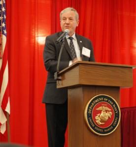 LTG Bob Wood, USA (Ret), Executive VP, AFCEA International welcomes attendees