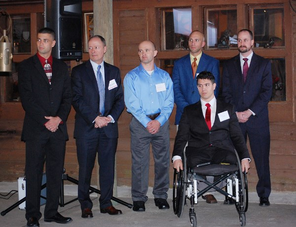 GEN Alexander with the Wounded Warriors turned Cyber Warriors